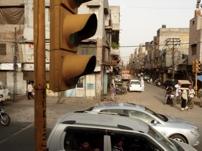 Irgendwo in der Innenstadt von Delhi