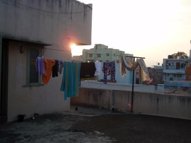 Dachterrasse in Bangalore